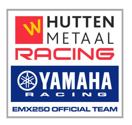 Hutten Metaal Yamaha Racing